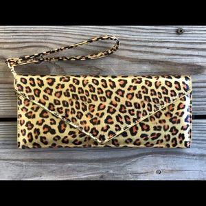 Marc Jacobs Wristlet Wallet Animal Print Leopard